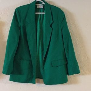 Jackets & Blazers - Alfred Dunned size 10 ladies green jacket